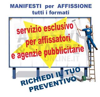 Manifesti affissione